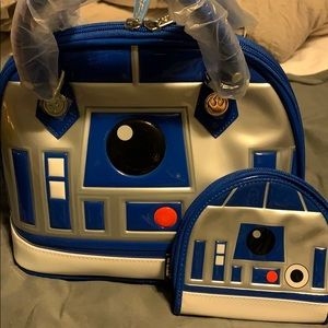 R2D2 loungefly purse